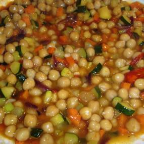 ortaggi e legumi cotti o preparati